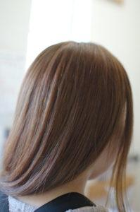 奈良市、白髪染め、グレーカラー、明るい白髪染め