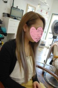 奈良県奈良市|編込みエクステが得意なサロン、美容院、美容室、シールエクステが得意なサロン、シールエクステ外し
