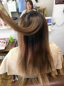 奈良でイルミナじゃなくアディクシーやスロウで綺麗なカラーやおしゃれ染めが出来るあまがつじの美容室ユウ